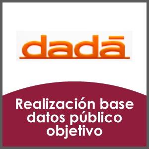 Creación base de datos