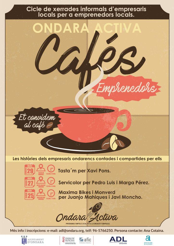 CAFES-EMPRENEDORS-ONDARA-ACTIVA-poster