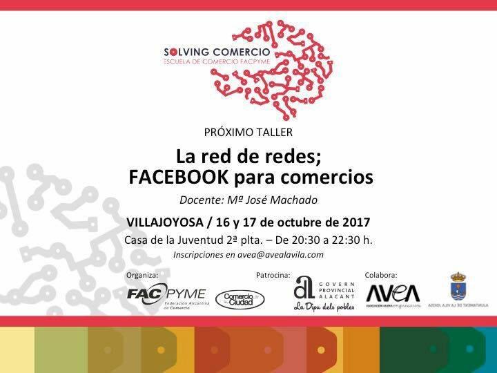 facebook para comercios villajoyosa