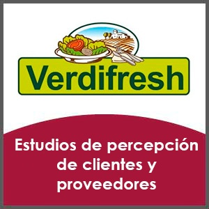 Estudio de clientes y proveedores para Verdifresh