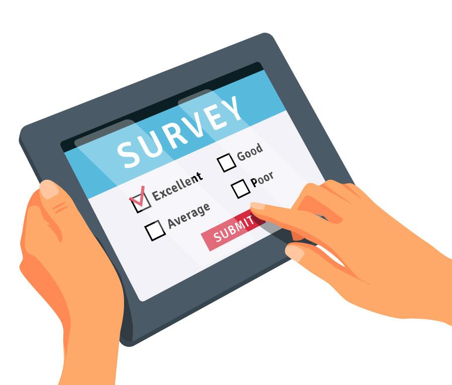 encuestas online cawi panel de consumidores gestión envíos
