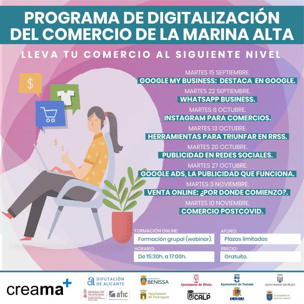 CAST. PROGRAMA DE DIGITALIZACIÓN DEL COMERCIO DE LA MARINA ALTA
