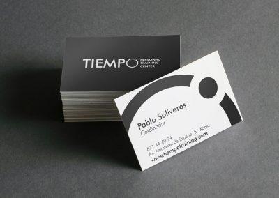Tiempo Personal Training Center: Diseño de imagen corporativa