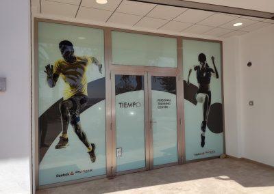 Tiempo Personal Training Center: Diseño del punto de venta