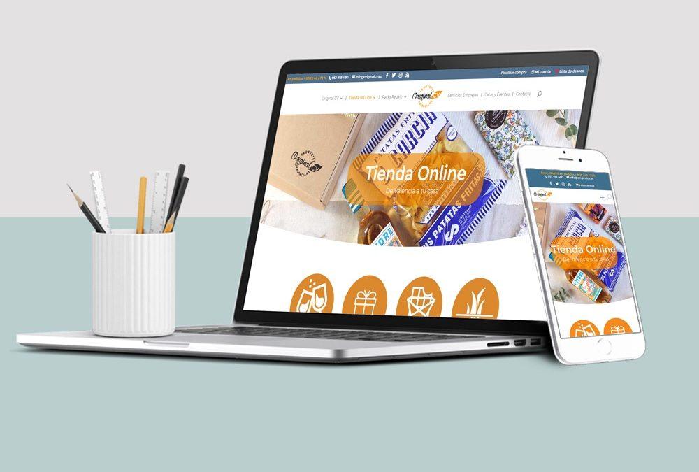 Original CV: Diseño Web con Venta Online