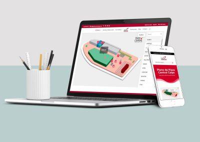 Plaza Central Calpe: Diseño y programación web con directorio de tiendas
