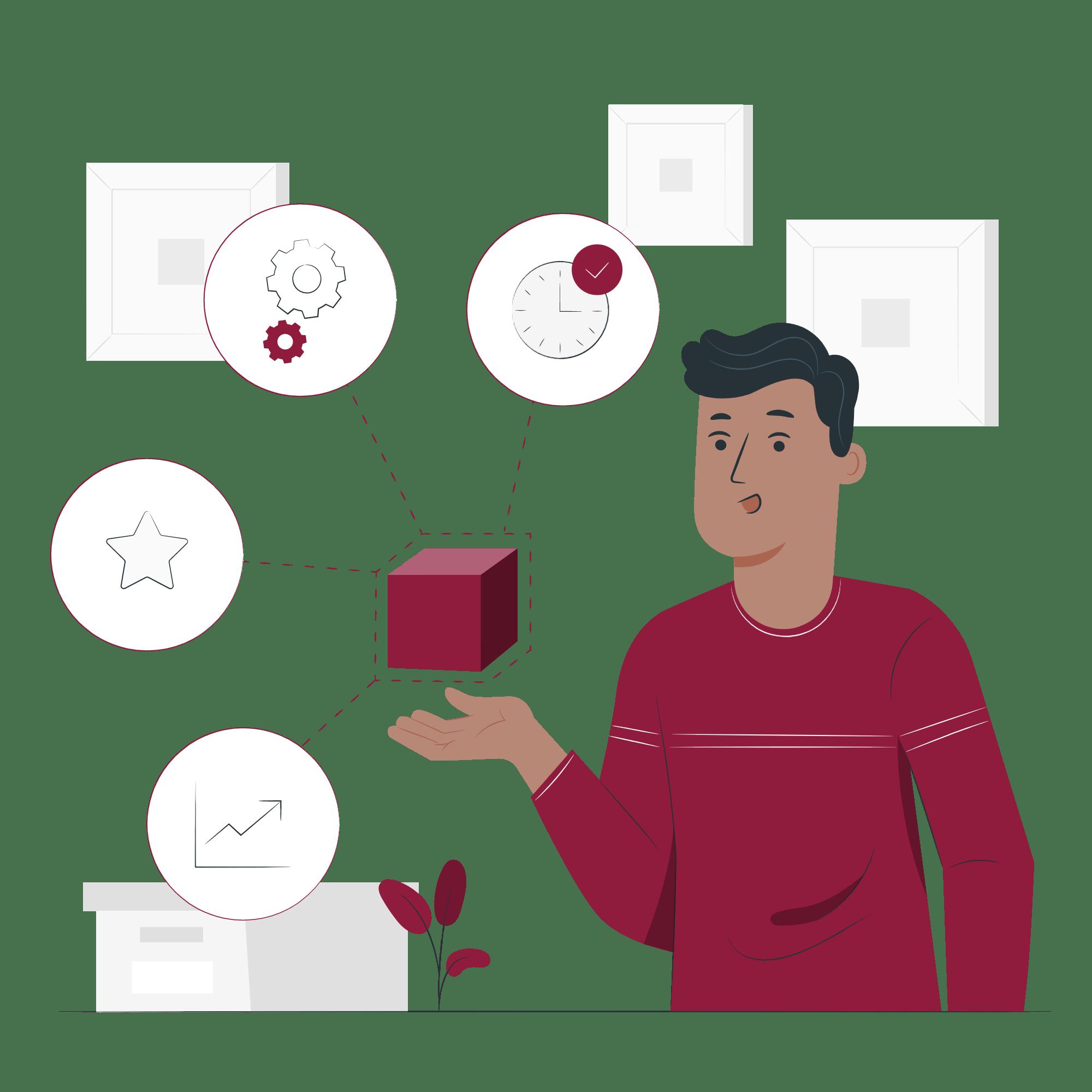 test-packaging-vector