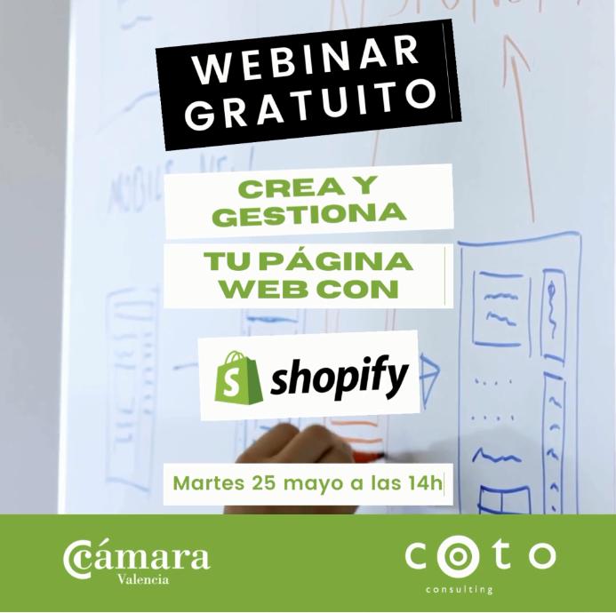 Gestiona tu página web con Shopify