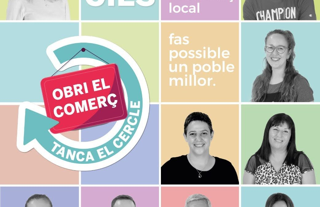"Campaña Street Marketing: ""Obri el Comerç, tanca el cercle"""