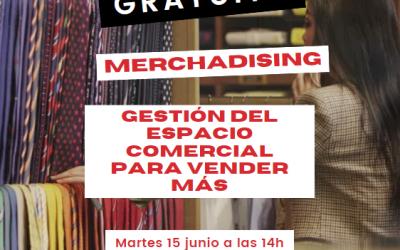 Webinar Merchandising: Gestión del espacio comercial para vender más – 15/06/21